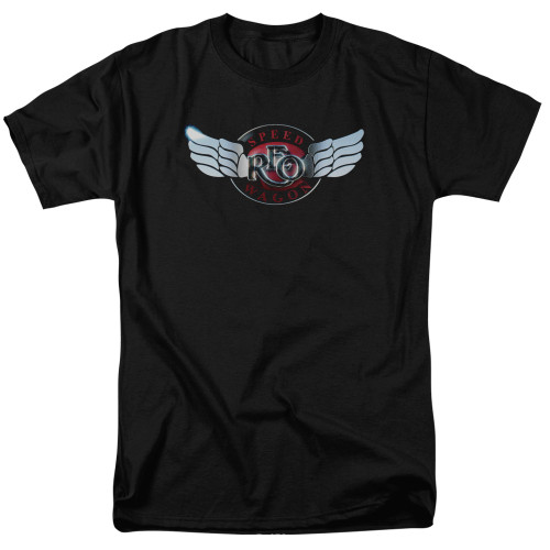 Image for REO Speedwagon T-Shirt - Rendered Logo
