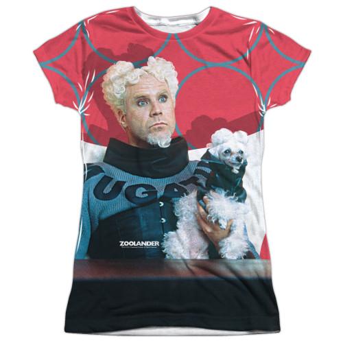 Image for Zoolander Sublimated Girls T-Shirt - Mugatu 100% Polyester