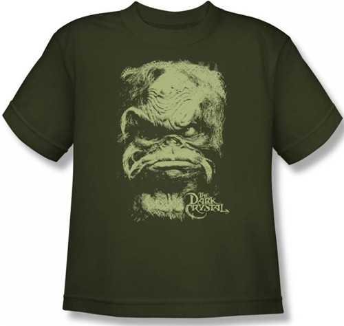 Image for The Dark Crystal Youth T-Shirt - Aughra