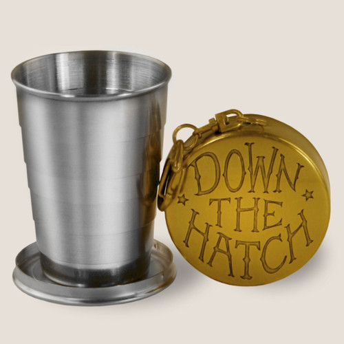 Image for Down the Hatch Portable Shot Glass
