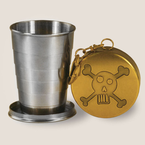 Image for Skull & Bones Portable Shot Glass