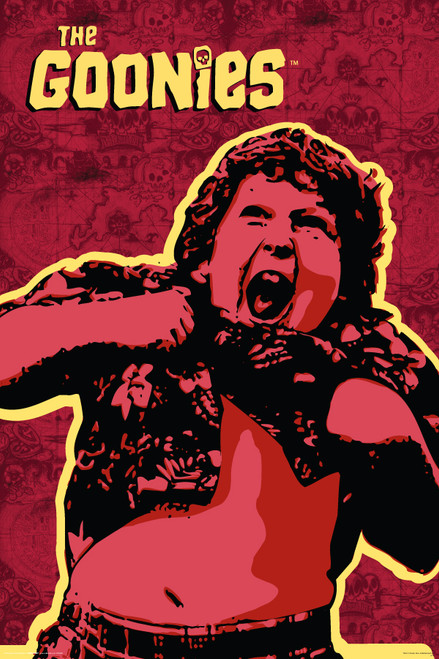 Image for The Goonies Poster - Truffle Shuffle Map