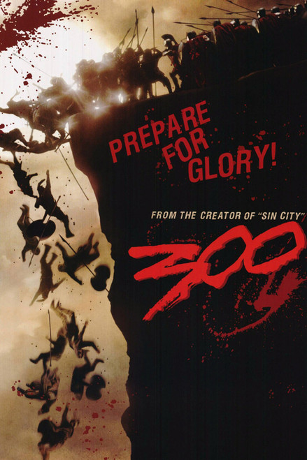 Image for 300 Poster - Prepare for Glory