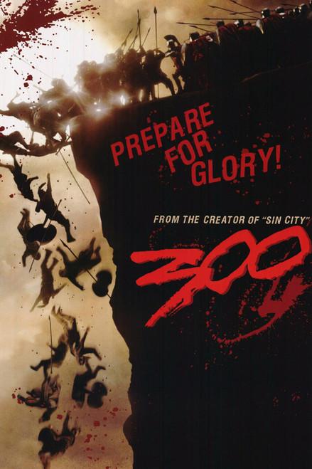 300 Poster - Prepare for Glory