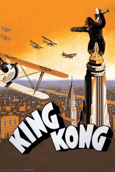 Image for King Kong Poster - Airplane