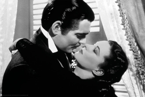 Image for Gone With the Wind Poster - Kissed