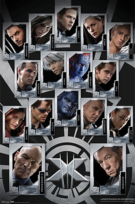 Image for X-Men Poster - Last Stand Team