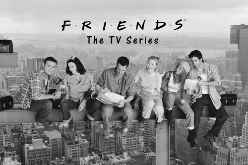 Image for Friends Poster -Over New York