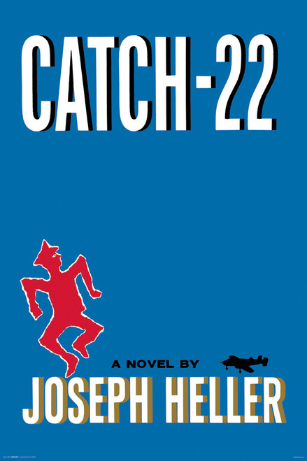 Image for Catch 22 Classic Book Cover Poster