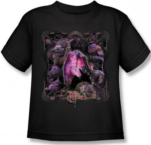 Image for The Dark Crystal Kid's T-Shirt - Skeksis Lust for Power