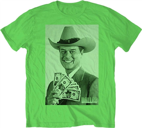 Image Closeup for Dallas JR All That Matters is Win T-Shirt