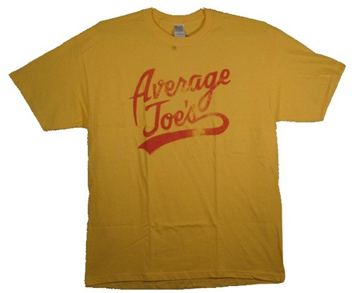 Image Closeup for Dodgeball Average Joe's T-Shirt