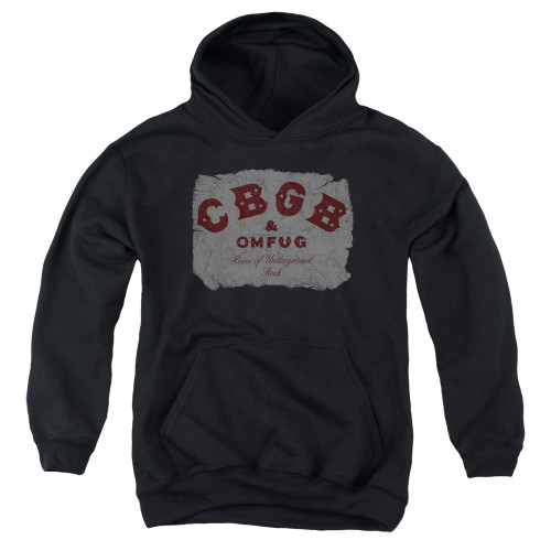 Image for CBGB Youth Hoodie - Crumbled Logo
