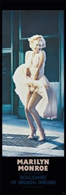 Image for Marilyn Monroe Poster - Boulevard of Broken Dreams Door