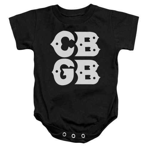 Image for CBGB Baby Creeper - Stacked Logo