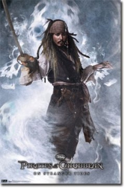 Image for Pirates of the Caribbean Poster - Captain Jack
