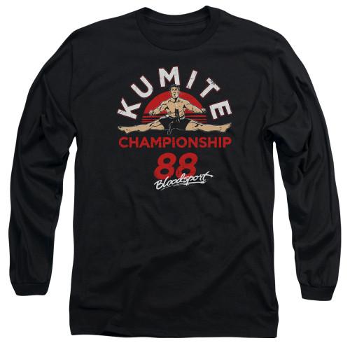 Image for Bloodsport Long Sleeve Shirt - Championship 88