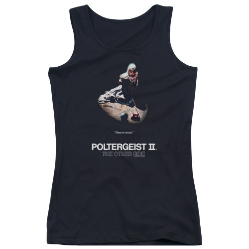 Image for Poltergeist II Girls Tank Top - Poster