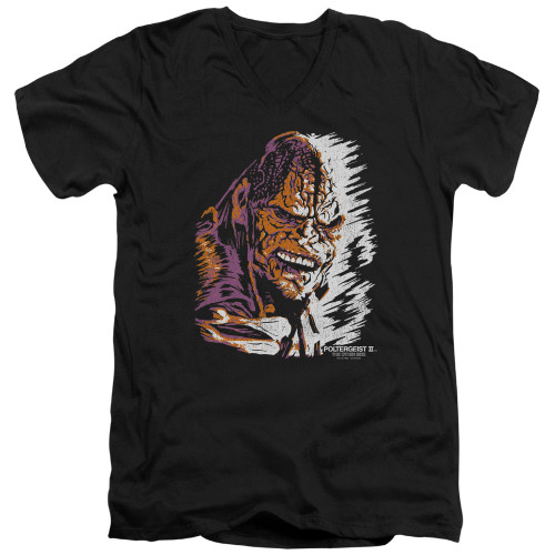 Image for Poltergeist II V Neck T-Shirt - Kane Worm