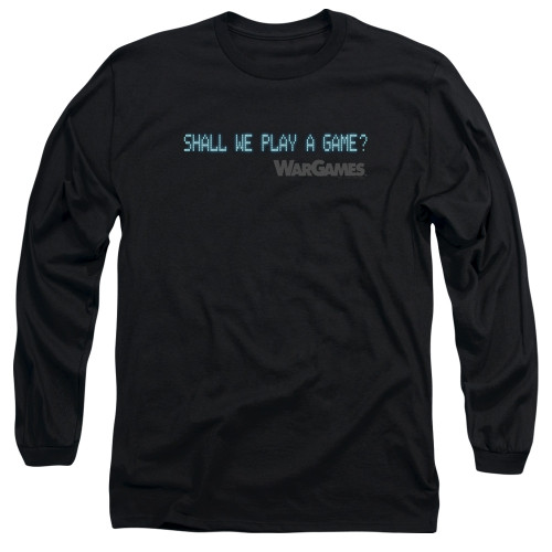 Image for Wargames Long Sleeve Shirt - Shall We