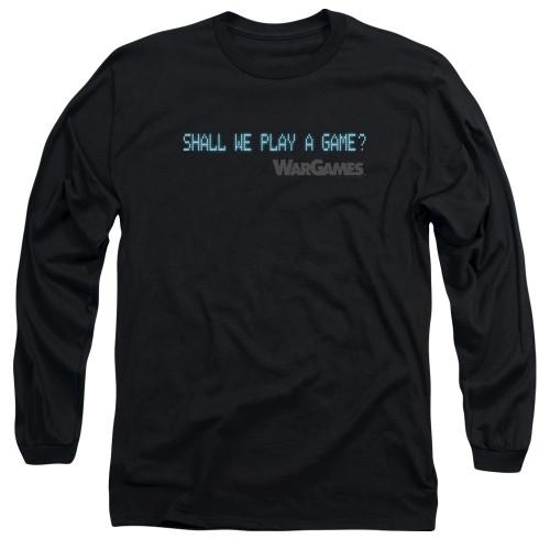 Image for Wargames Long Sleeve Shirt - Shall We