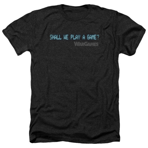 Image for Wargames Heather T-Shirt - Shall We