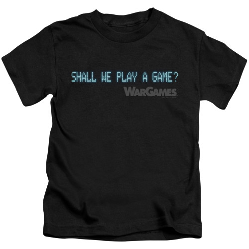 Image for Wargames Kids T-Shirt - Shall We