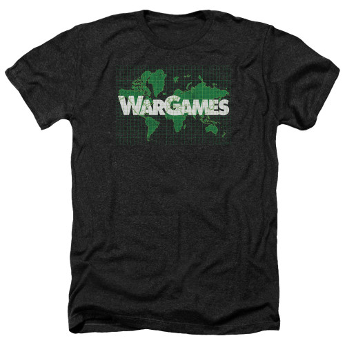 Image for Wargames Heather T-Shirt - Game Board