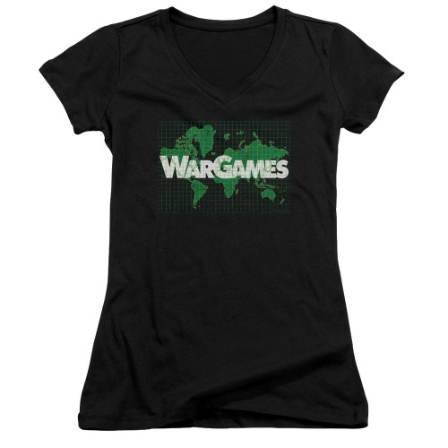 Image for Wargames Girls V Neck - Game Board