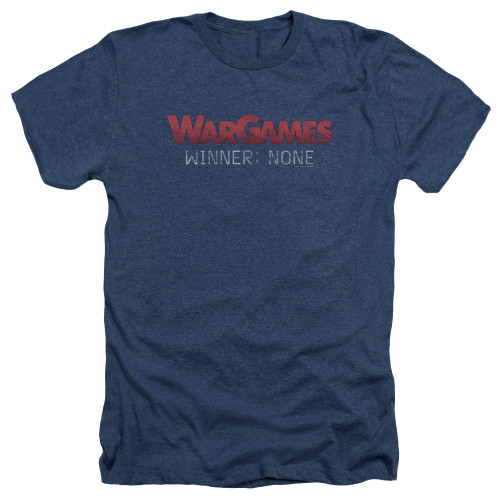 Image for Wargames Heather T-Shirt - No Winners