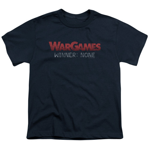 Image for Wargames Youth T-Shirt - No Winners