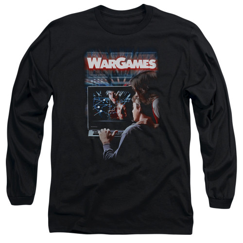 Image for Wargames Long Sleeve Shirt - Poster