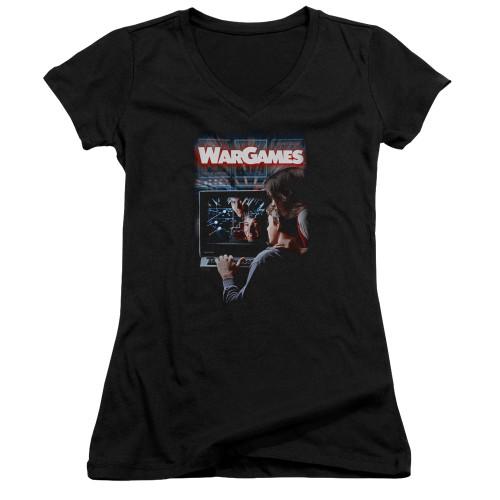 Image for Wargames Girls V Neck - Poster