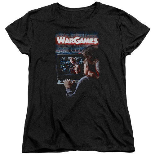 Image for Wargames Womans T-Shirt - Poster
