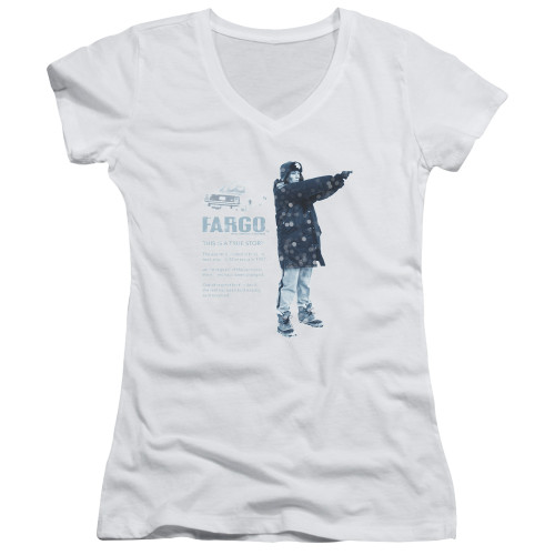 Image for Fargo Girls V Neck - This Is A True Story