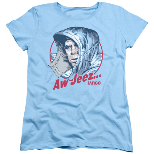 Image for Fargo Womans T-Shirt - Aw Jeez