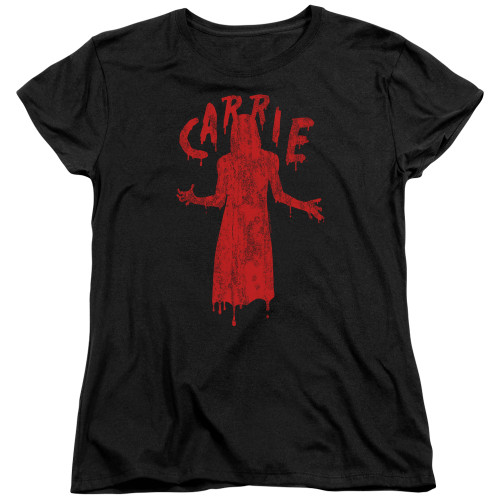 Image for Carrie Womans T-Shirt - Silhouette