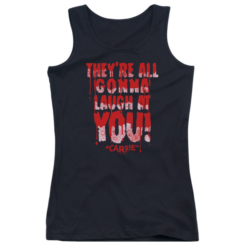 Image for Carrie Girls Tank Top - Laugh At You
