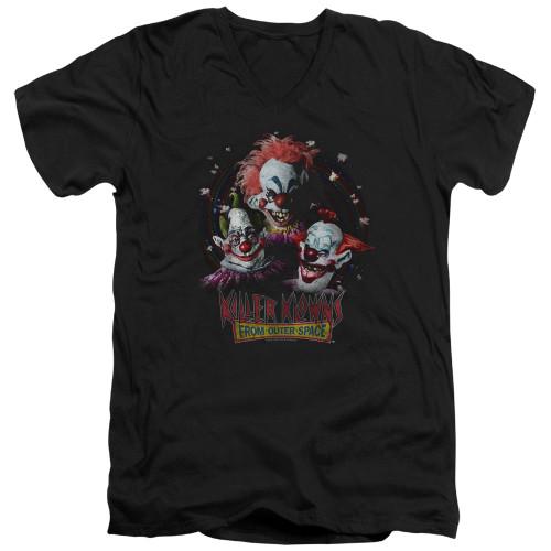 Image for Killer Klowns From Outer Space V Neck T-Shirt - Killer Klowns