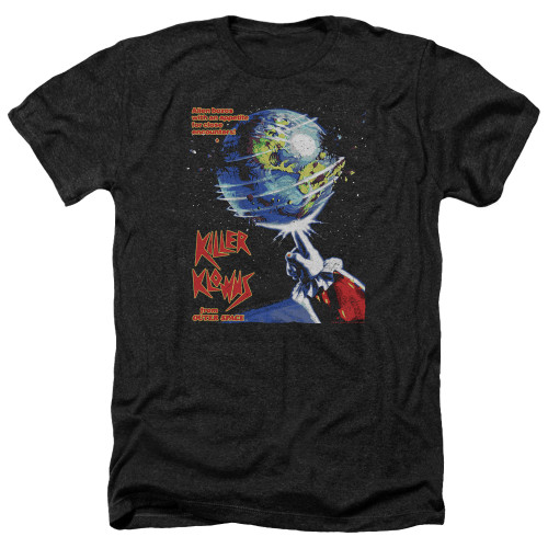Image for Killer Klowns From Outer Space Heather T-Shirt - Invaders