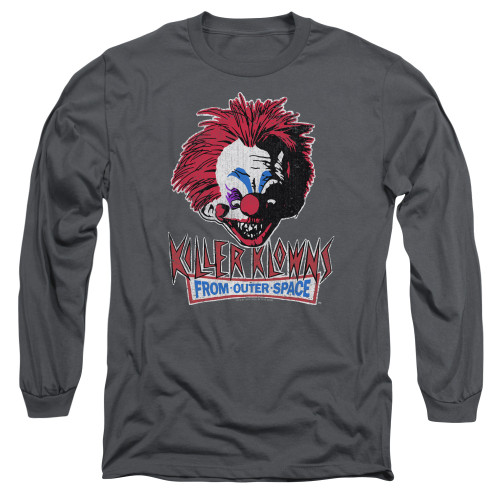 Image for Killer Klowns From Outer Space Long Sleeve Shirt - Rough Clown