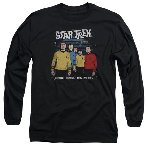 Image for Star Trek Long Sleeve Shirt - Stange New World