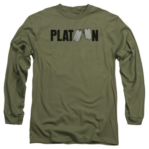 Image for Platoon Long Sleeve Shirt - Logo