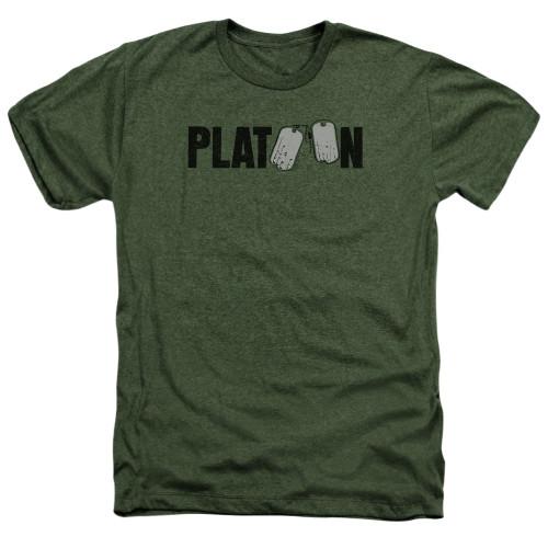 Image for Platoon Heather T-Shirt - Logo