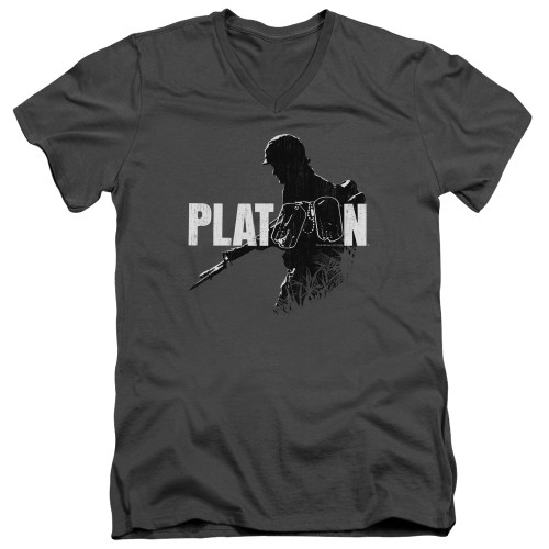 Image for Platoon V Neck T-Shirt - Shadow Of War