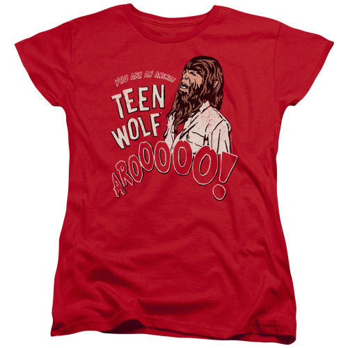 Image for Teen Wolf Womans T-Shirt - Animal