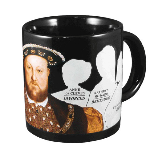 Image for Henry the VIII Transforming Coffee Mug
