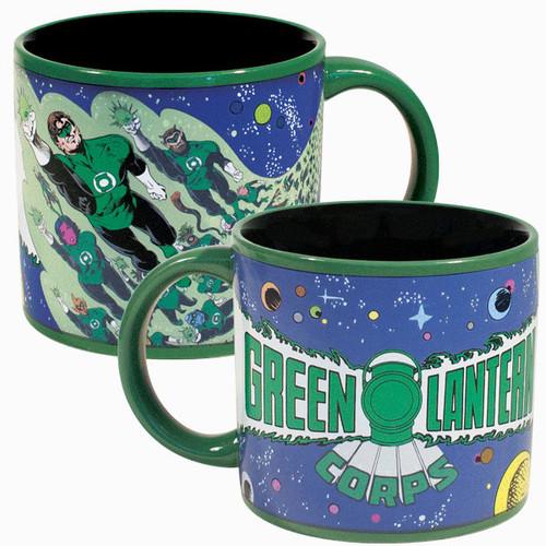 Green Lantern Corps Transforming Coffee Mug