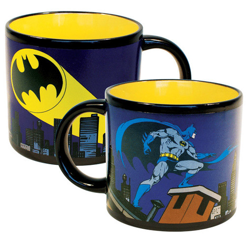 Image for Batman Bat Signal Transforming Coffee Mug