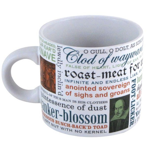 Image for Shakespeare Insults Coffee Mug